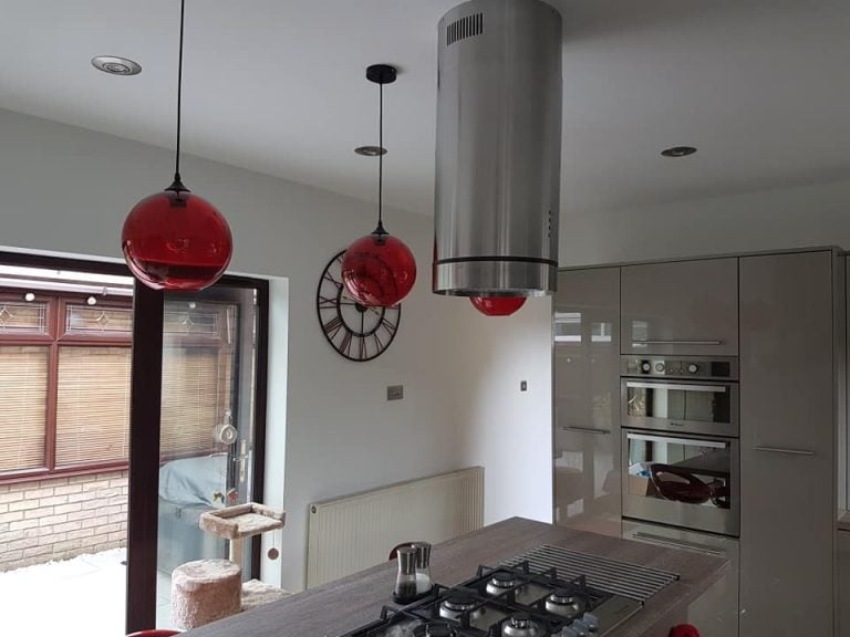 Kitchen lighting refurb Peterborough