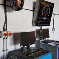 Brake tester installed in car garage by MDS Electrical Commercial Electricians