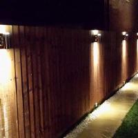 Garden lighting in Peterborough