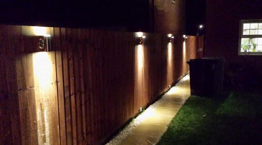 Garden lighting in Peterborough image